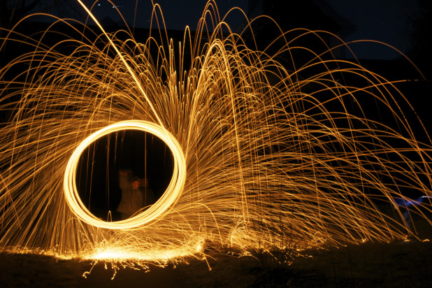 Lightpainting mit CEWE