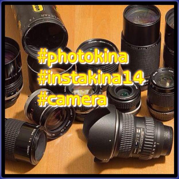 Beispiel eines Fotos zur #instakina14: diese Hastags sollten bei dem Thema #camera im Text genannt werden.