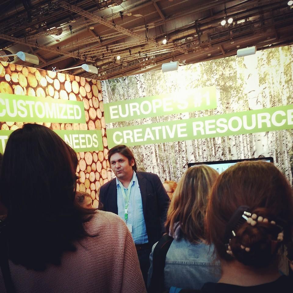Murat Erimel auf der Buchmesse