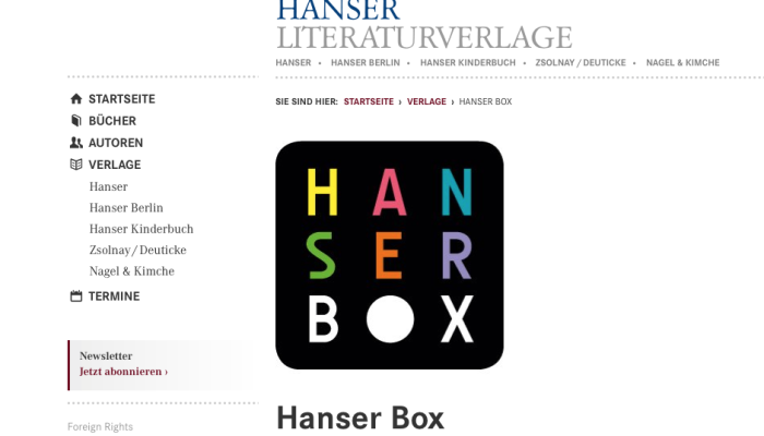 Hanser Box