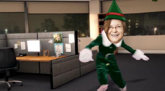 Weihnachtsgrüße von Pia