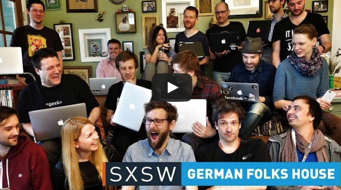 SXSW mit dem German Folks House 2015.