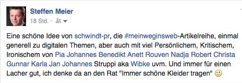 Steffen Meier über mein Weg ins Netz #meinweginsnetz