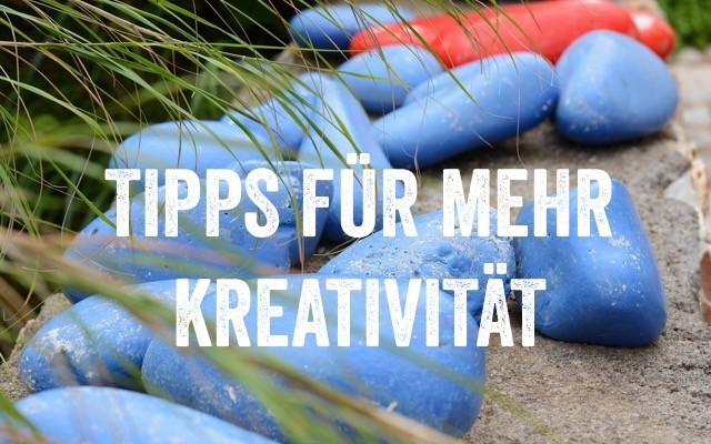 Tipps für mehr Kreativität