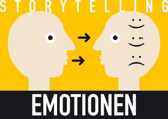Storytelling: Gute Geschichten rufen Emotionen beim Publikum hervor.