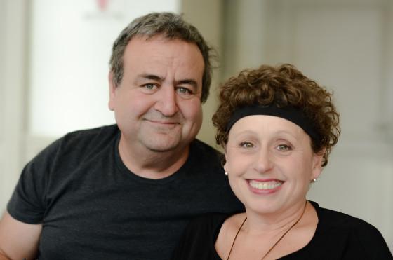 """Das Paar Linda und Bob Carey arbeiten und leben zusammen als """"Team"""""""