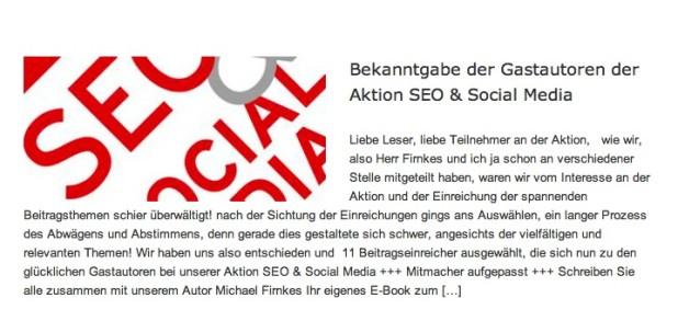 "Kapitel ""Storytelling und Social Media – Geschichten digital und transmedial erzählen"" in dem E-Book des Hanser Verlags SEO & Social Media."