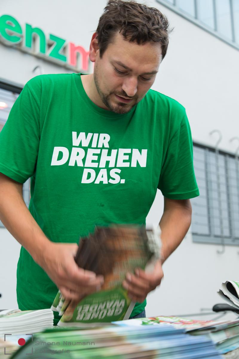 Die Wahlkampfstory mit Landtagskandidat Thomas Pfeiffer