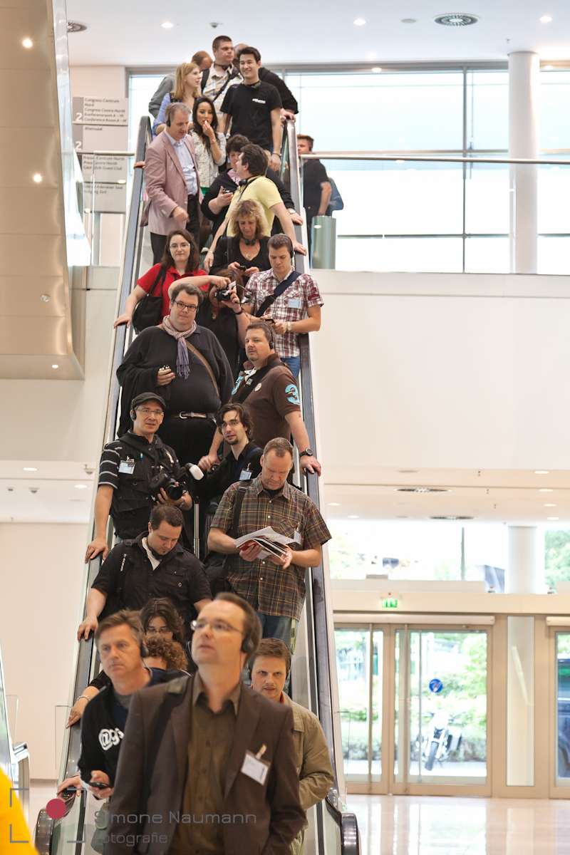 Unsere Truppe - rund 60 Personen auf der Photokina Bloggertour 2012
