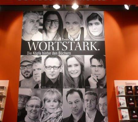 Wortstark präsentieren sich die Autoren des Droemer Knaur Verlags auf der Buchmesse - Archivfoto 2013