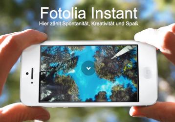 Smartphone-Fotografie mit Fotolia Instant: App und Kollektion.