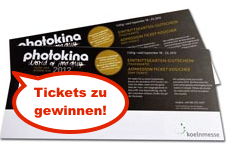 Verlosung: Tickets für die Photokina.