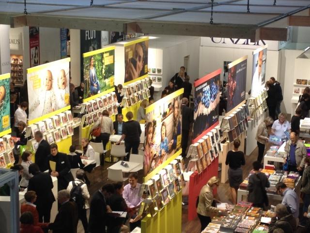 Der Gräfe und Unzer Buchmesse-Stand im Oktober 2013.