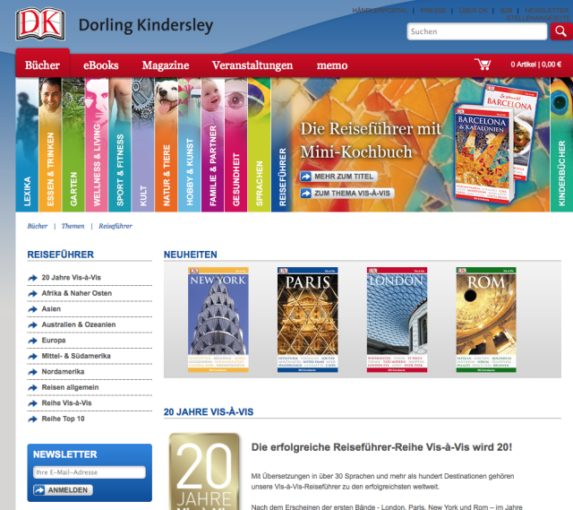 Dorling Kindersley als eine Station unseres InstaWalks auf der Frankfurter Buchmesse.
