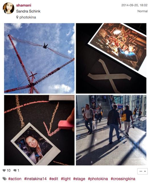 Der dritte Platz der Photokina Instagram Challenge #Instakina14 geht an @shamani.