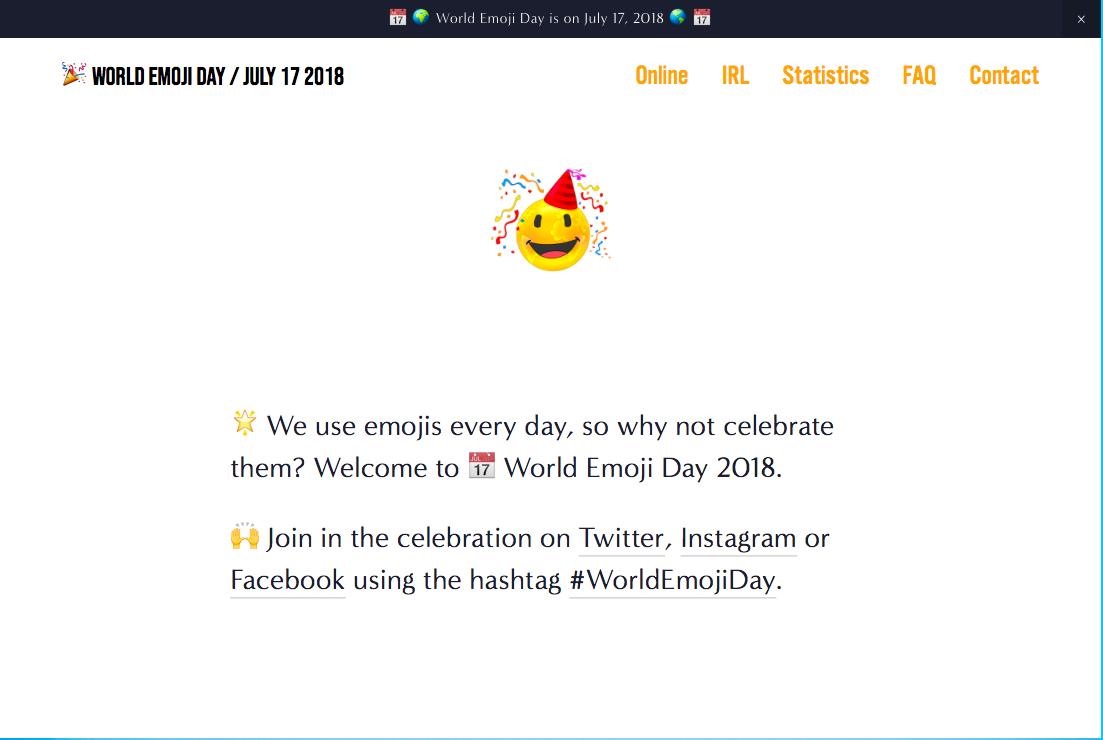 Welttag der Emojis