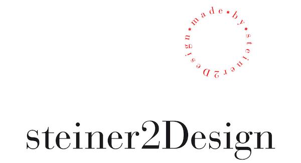 Logo der Agentur steiner2design von Regina Steiner