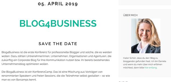 Eine Blogger-Konferenz sowie ein Barcamp für professionelle Blogger und solche, die es werden wollen.