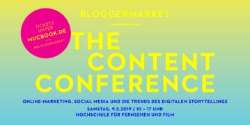 MUCBOOK Bloggermarket - The Content Conference #bloggermarket