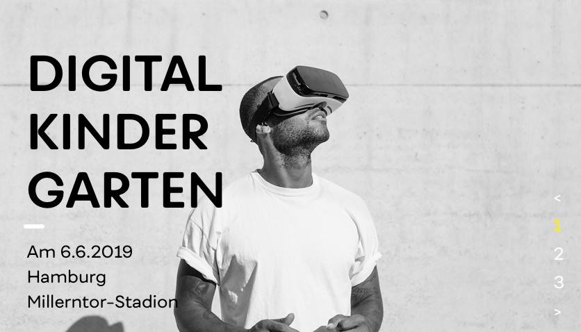 Beim Event Digitaler Kindergarten #DK2019 geht es um die Entdeckung neuer digitaler Trends und Technologien sowie um die Vermittlung zukunftsweisender Insights im Bereich Marketing und Kommunikation.