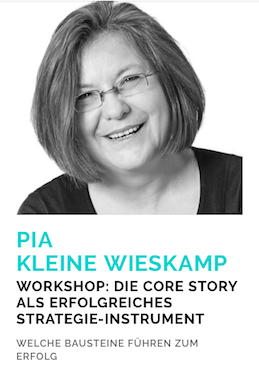 Auf der Konferenz Bloggermarket halte ich einen Workshop zum Thema Storytelling: Wie erzähle ich meineKerngeschichte (Core Story).