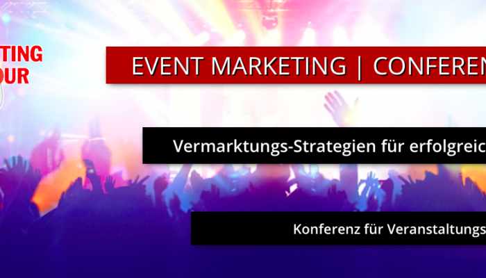 Pia Kleine Wieskamp als Speakerin auf der Marketing On Tour 2019.