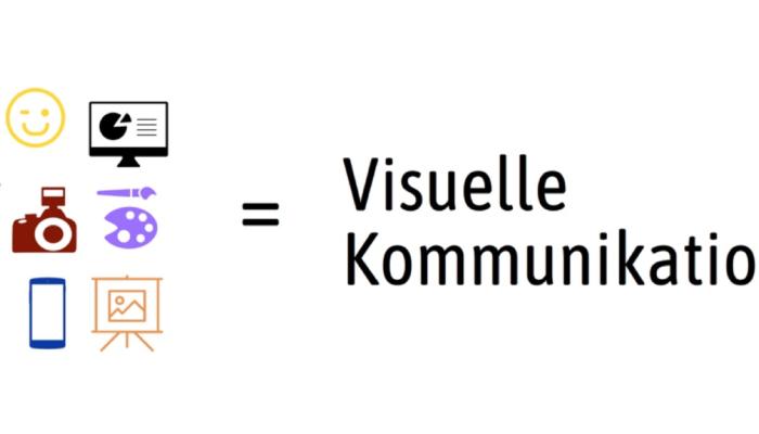 Bilder, Videos, Grafiken, Skulpturen, Gifs, Infografiken, Icons, Mimik, Gestik, Farben, Flächen, Linien - alles zusammen ergibt Visuelle Kommunikation.