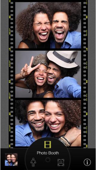 Photobooth mit der Selfie-App CamMe