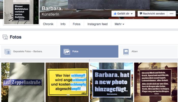 Fotos von Barbara.